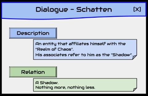 Prelude 1: Dialogue - Schatten